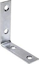 Stoelhoek verzinkt 25 mm. (6 stuks)