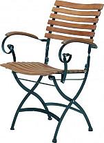 Bellini klapstoel teak 4 Seasons Outdoor