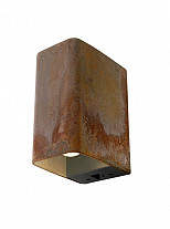 Ace Down Corten Wandlamp In-Lite