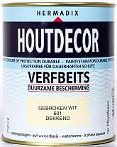 Hermadix Houtdecor 601 Gebroken Wit 750ml