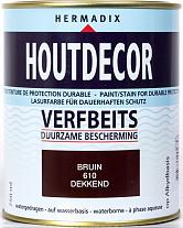 Hermadix Houtdecor 610 Bruin 750ml