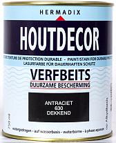 Hermadix Houtdecor 630 Antraciet 750ml