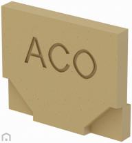 ACO Euro eindline eindplaat