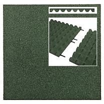 Rubber Tegels Hecmar Groen