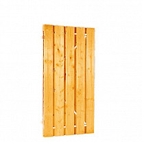 Grenen Tuinpoort stalen frame Woodvision