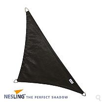 Coolfit Nesling Schaduwdoek Driehoek Zwart 400x400x570 cm.