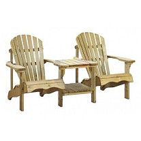 Canadian Chair Duo / Double Relax Chairs