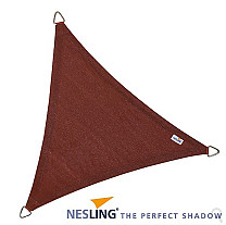 Nesling Coolfit Schaduwdoek Driehoek Terracotta