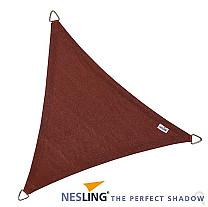 Nesling Coolfit Schaduwdoek Driehoek Terracotta