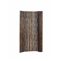 Bamboescherm op rol 180 x 180 cm, gelakt.