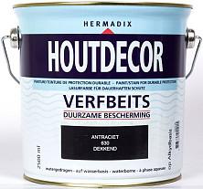 Hermadix Houtdecor 630 Antraciet 2500ml