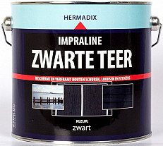 Hermadix Impraline zwarte teer