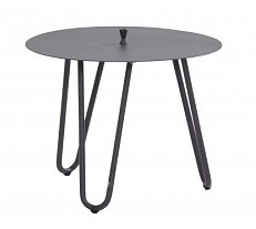 Cool Side Table antraciet 60x40 cm. 4 Seasons Outdoor