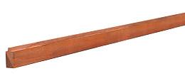 Hardhouten Blokhutprofiel 2,7x6,5 cm. Woodvision