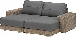Kingston Pure Chaise Loungebank 4 Seasons Outdoor