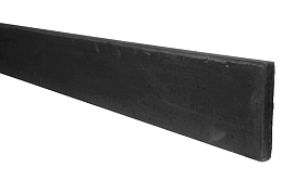 Betonplaat glad 24 x 3,5 x 184 cm, antraciet ongecoat.