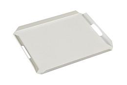 Dienblad Aluminium wit 50x40 cm Exotan