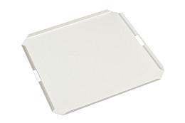 Dienblad Aluminium wit 80x80 cm Exotan