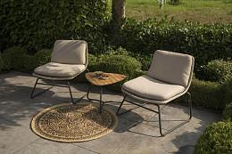 Danic Loungestoelen met Bijzettafel Exotan Persoon