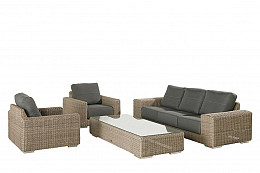 Kingston Pure Loungeset 4 Seasons Outdoor