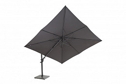 Zweefparasol Horizon Premium Antraciet 300x300 cm 4 Seasons Outdoor