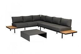 Bari Platform Loungeset Polywood Exotan