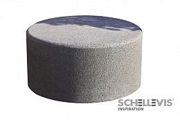 Schellevis zitelement (rond) 100x40 cm grijs / va. september