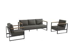 Montigo Loungebank -en stoelen Matt Carbon Taste 4SO / Niet meer leverbaar 2021