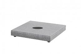 Granieten voet antraciet 180 kg