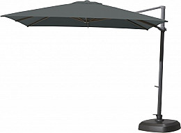 Zweefparasol Siesta 300x300 cm. Charcoal 4 Seasons Outdoor