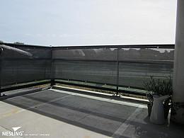 Nesling Balkondoek 80x500 Antraciet