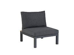 La Vida lounge middendeel Exotan Dark Grey