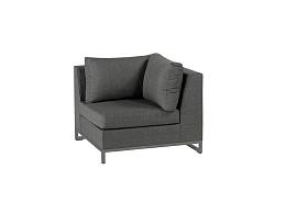 Rhodos Lounge Hoekdeel Stone Grey Nanotex Exotan
