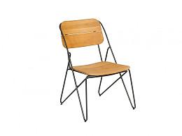 Enjoy Stapelbare Dining stoel Teak Exotan