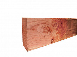 Douglas gording fijnbezaagd blank 5x15 cm. Woodvision