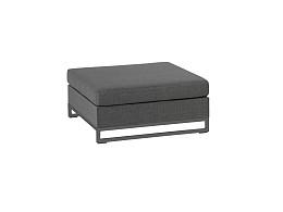 Rhodos Lounge Hocker Stone Grey Nanotex Exotan