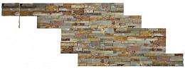 Natuursteen Hoek Muurstrip Fixwall Multicolor Slate 15 cm