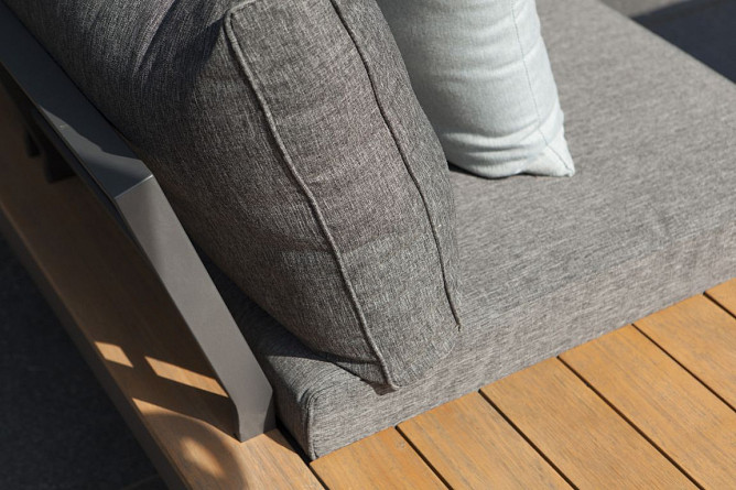 La Vida Loungeset Dark Grey Eucalyptus Exotan