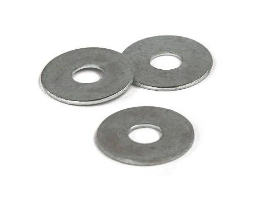 Carrosseriering verzinkt 6 mm. (35 stuks)