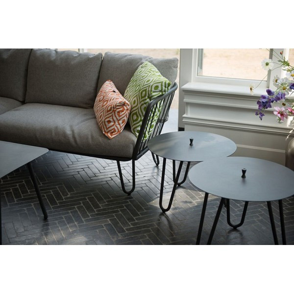 Cool Side Table taupe 60x40 cm. 4 Seasons Outdoor