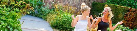 Natuurlijke tuinafscheidingen